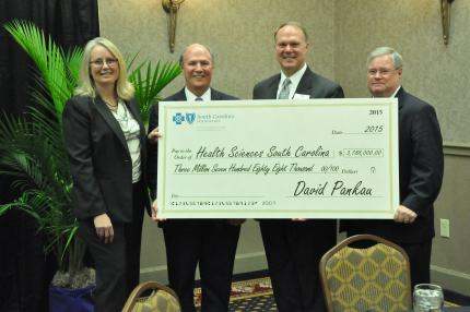 Sc Foundation Presents 3 8 Million Check To Statewide Surgical